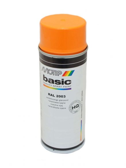 Sprej narančasti Motip basic RAL2003 350ml