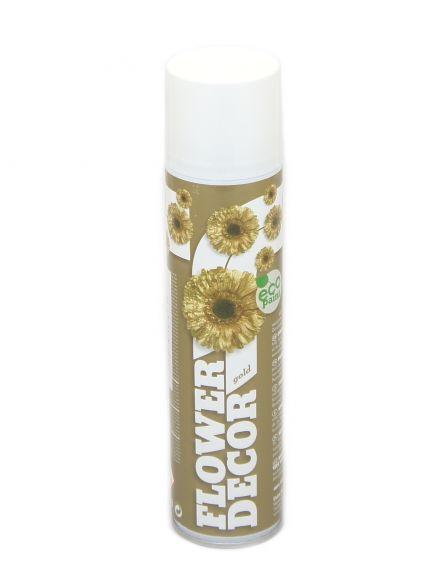 Sprej zlatni flower decor 400mL