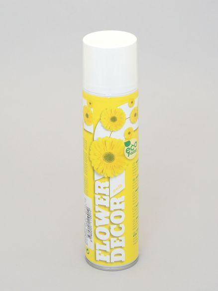 Sprej žuti flower decor 400mL