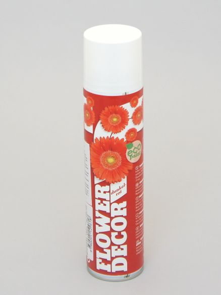 Sprej crveni flower decor 400mL