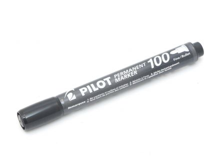 Flomaster Pilot Perm. Marker 100 Black