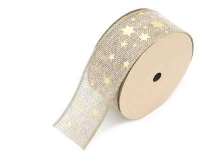 Traka juta zvijezdice 5cm x 9.1m